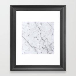 Marble Pattern  Framed Art Print