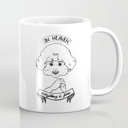 Radiator Lady Coffee Mug
