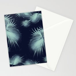 Fan Palm Leaves Paradise #9 #tropical #decor #art #society6 Stationery Cards