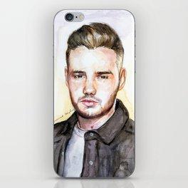 Liam Watercolors iPhone Skin