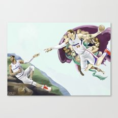 Chris Paul, Point God Canvas Print