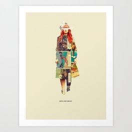 Until She Smiles Art Print