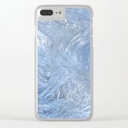 Fantasy Ice Clear iPhone Case