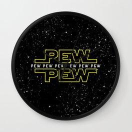 Pew Pew v2 Wall Clock