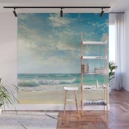 beach love tropical island paradise Wall Mural