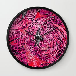 Chanting Loon Wall Clock