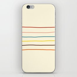 Abstract Retro Stripes #2 iPhone Skin