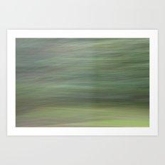 Green Whirlwind Art Print