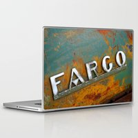 fargo Laptop & iPad Skins featuring Fargo by Photo by Malin Linder