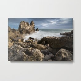 Little Corona Del Mar Beach Metal Print