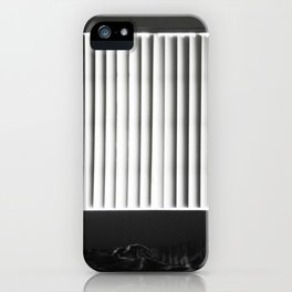 Trying to get through. iPhone Case