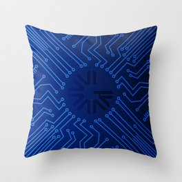Pre-ICO Design of the week 5 Throw Pillow