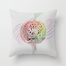 The Incessant Note Throw Pillow
