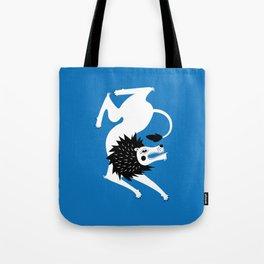 Dancing Beasts: Lion Tote Bag