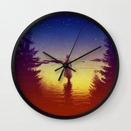 Wander Night Noise Wall Clock