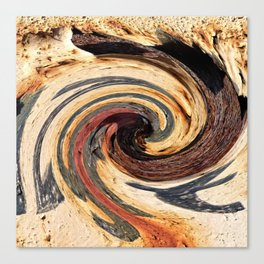 Swirl 07 - Colors of Rust / RostArt Canvas Print
