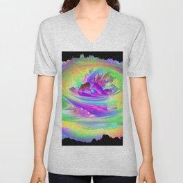 Color Storm Unisex V-Neck