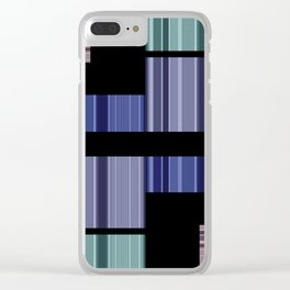 An abstract geometric pattern . Alex 6. Clear iPhone Case