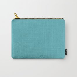 Light Teal Carry-All Pouch