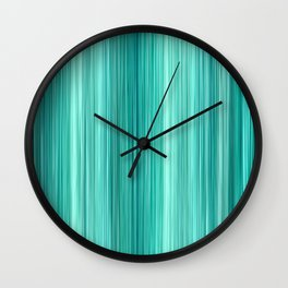 Ambient 5 in Teal Wall Clock