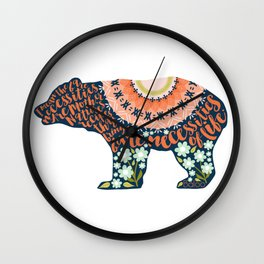 The Bare Necessities. The Jungle Book. Wall Clock