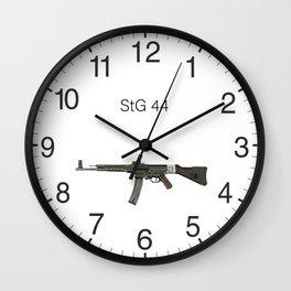 German Assault Rifle StG 44 Wall Clock
