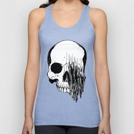 Skull #5 (Distortion) Unisex Tank Top