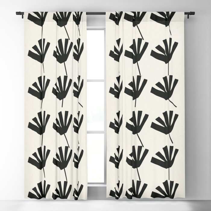 Leaves Blackout Curtain