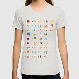 Armenian Alphabet T-shirt