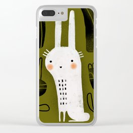 CARROT & RABBIT Clear iPhone Case