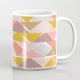 Contemporary Abstract Shape Pattern Coffee Mug