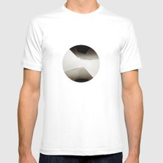 Angles Redux Mens Fitted Tee White MEDIUM