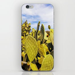 Fig tree in the countryside near the medieval white village of Ostuni iPhone Skin