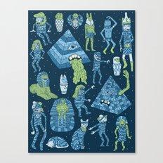 Wow! Mummies! Canvas Print