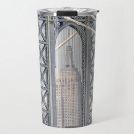 """Empire State 2"" by Murray Bolesta! Travel Mug"