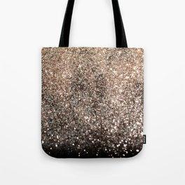 Sparkling GOLD BLACK Lady Glitter #1 #decor #art #society6 Tote Bag