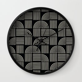 Balance Lines Wall Clock