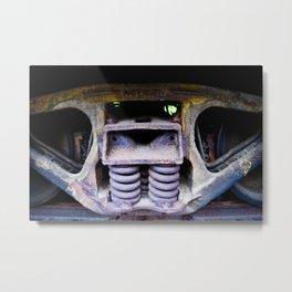 Industrial 2 Metal Print