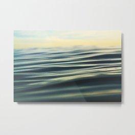 Silky Sunset Surface Metal Print