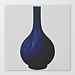 A SACRIFICIAL BLUE-GLAZED BOTTLE VASE CHINA 2 Canvas Print
