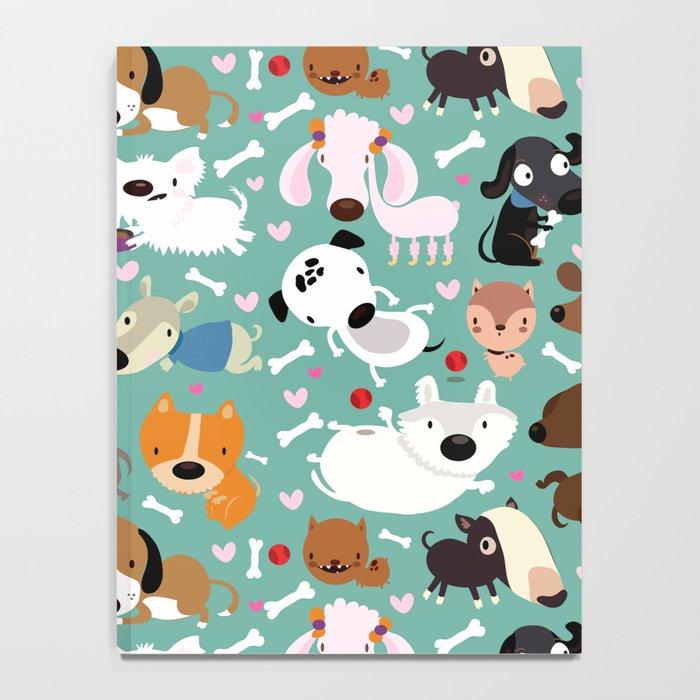 Dog pattern Notebook