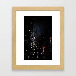 Chinatown Bus Framed Art Print