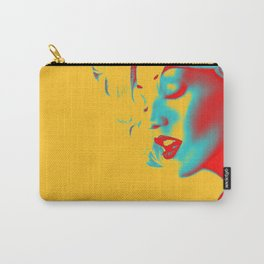 Blonde Bombshell Carry-All Pouch
