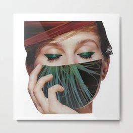 ...The Veil... Metal Print