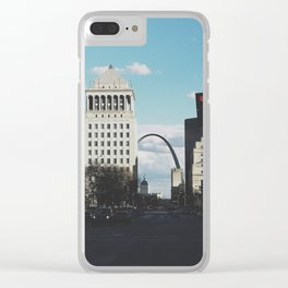 St. Louis Arch Clear iPhone Case