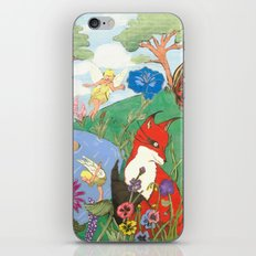 Fox And The Fairy iPhone & iPod Skin