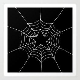 Star Web Art Print