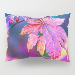 Charming Japanese Maple Tree Leaves In Autumn Pillow Sham