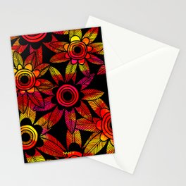 Big Floral 1 Stationery Cards
