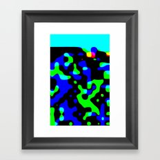 sad eyed lady of the lowlands Framed Art Print